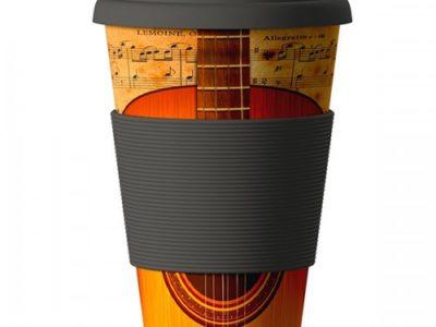 Еко чаша от бамбук Китара 400мл