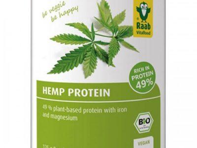 Био конопен протеин на прах 125г